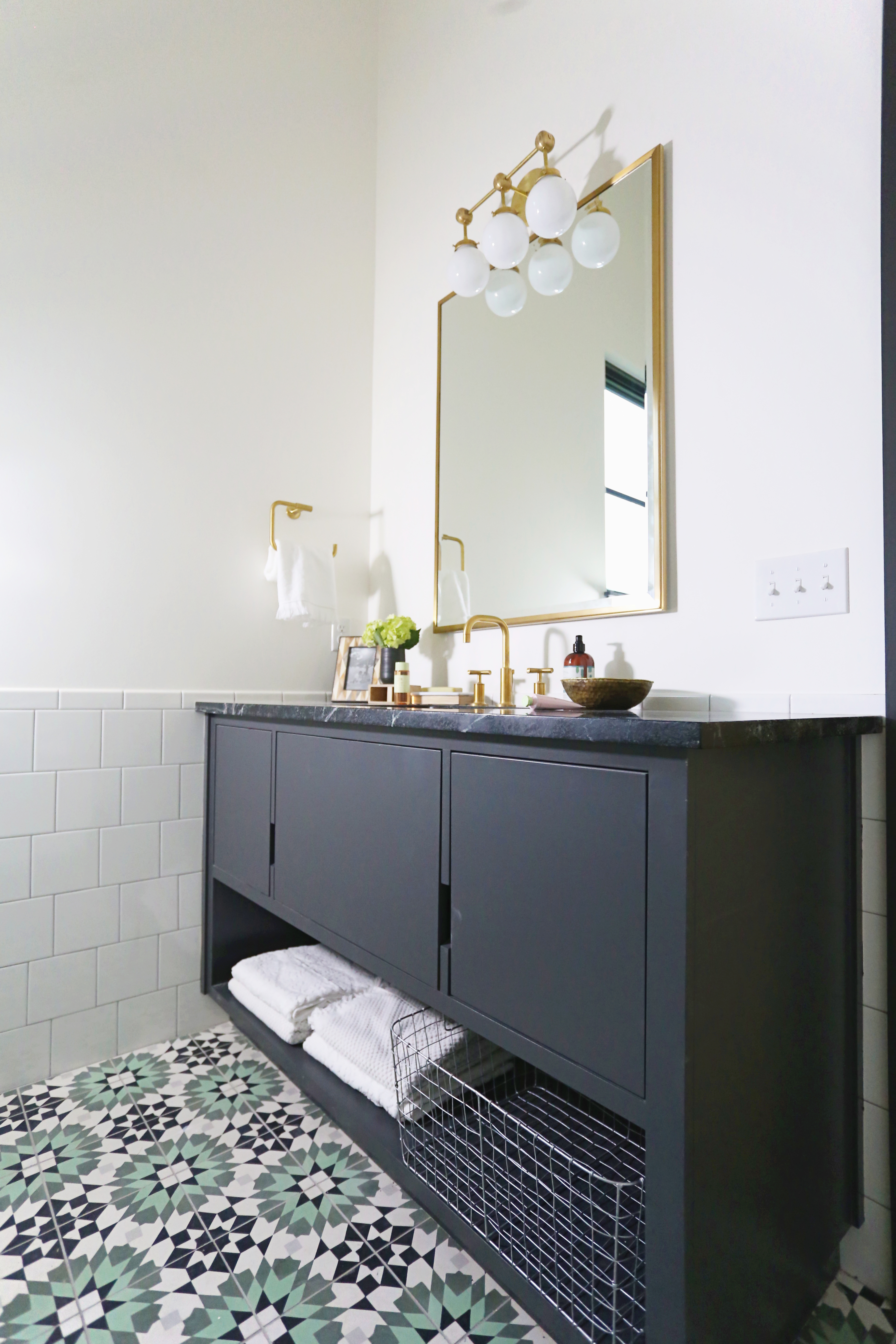The Delaware Project Traditional Boho Modern Bath Reveal